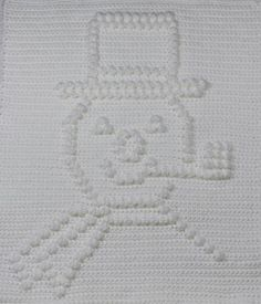 Frosty the Snowman Baby Blanket  pattern on Craftsy.com  $4.95