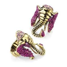 Bohemian Purple Elephant Ring Jewellery - Samantha Jayne Fashion Outlet FREE DELIVERY JEWELLERY ACCESSORIES FASHION