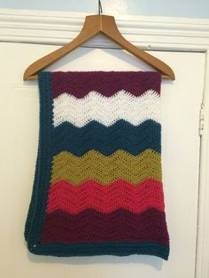 Chunky ripple made by woolly creations