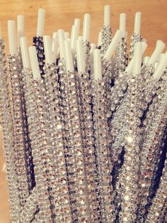 BLING Sticks Perfect for Cake pops for a shower! So cute!
