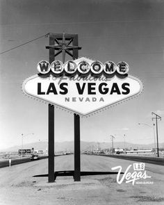 Welcome to Fabulous Las Vegas sign Feb 22, 1960