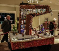 Check Out Sheraton Seattle's 21st Annual Gingerbread Village - Holiday Archite-Cheer - Curbed Seattle
