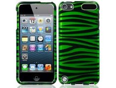 Green/Black Zebra Image Hard Plastic Cover Case for Apple iPod Touch 5th Gen by Emax, http://www.amazon.com/dp/B00CMDK4NQ/ref=cm_sw_r_pi_dp_giWJrb14QV898
