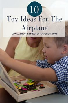 10 Toy Ideas For The Airplane To Keep Your Little One Happy - Tourist Meets Traveler Travel Toys, Air Travel, Solo Travel, Traveling With Baby, Travel With Kids, Family Travel, Travel Hacks, Travel Guides, Kids Travel Activities