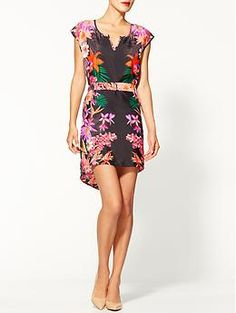 Collective Concepts Belted Floral Dress | Piperlime