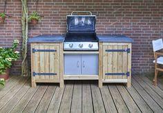 Ombouw maken voor gas BBQ | voordemakers.nl