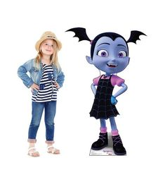 Check out Disney Junior Vampirina Cardboard Standee from Wholesale Party Supplies Life Size Cardboard Cutouts, Party Kit, Party Ideas, Party Themes, Elf Movie, Wholesale Party Supplies, Birthday Box, Birthday Ideas, Kids Tv Shows