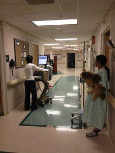 Coral Springs Hospital Hallway