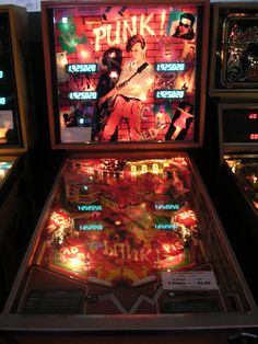 Pinball machines- they took real skill without all the digital crap...
