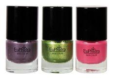Euphidra Skin Color SS 2012 Collection #smalti #unghie