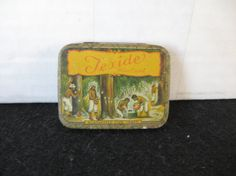 Vintage Texide Condom Tin  Vintage Texide Condom Tin .This tin is in good condition for its age. Made in USA 1931 Texide Water Cured Guaranteed Five Years. The tin is empty. 2 1/8 X 1 5/8. Manufactured by L.E. Shunk Latex Products Inc. Please stop by and check out the other items in our shop, never know what you might find there.
