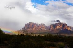 Superstition Mountains in Apache Junction Arizona.   Photo by Keri Elizabeth Photography