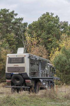 Diy Camper, Truck Camper, Camper Trailers, Overland Truck, Overland Trailer, Off Road Camper, 4x4 Off Road, Kombi Motorhome, Campervan