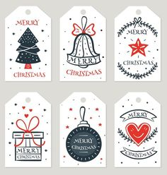 christmas gifts Create Gift Tags at Hom - Free Printable Christmas Gift Tags, Free Christmas Gifts, Diy Christmas Cards, Printable Tags, Holiday Gifts, Christmas Crafts, Christmas Doodles, Christmas Drawing, Tag Templates