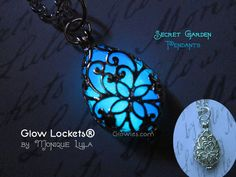 Glowies.net - Secret Garden Glow Locket® Pendant