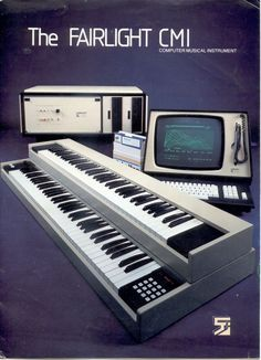 The History of Electronic Music, Free Web Project Catalogues the Theremin, Fairlight & Other Instruments That Revolutionized Music Music Machine, Drum Machine, Peter Vogel, Vintage Synth, Vintage Keys, Moog Synthesizer, Computer Music, Recording Studio Design, Recording Equipment