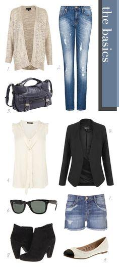 Rachel Bilson Basics Wish I could narrow down my wardrobe to some basic looks