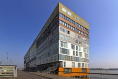 Silodam - Amsterdam, The Netherlands;  designed by MVRDV;  by Wojtek Gurak, via Flickr