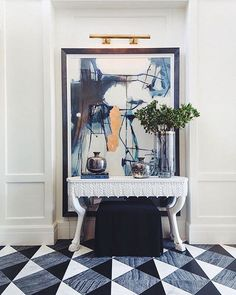 #NoirFurniture: making an entrance #Repost @utahstyledesign with @repostapp. ・・・ There's no ifs, ands or buts about it: This @alicelanehome entryway is a (glam) slam dunk! : @westoncolton
