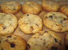 """Going through an old file box of, I found this in my mother-in-law's writing,a recipe from her friend Grace of Nantucket. We love the flavor, and they are chewy as I love them too. What I enjoyed reading was her description of """"heaping cups of flour""""!"""