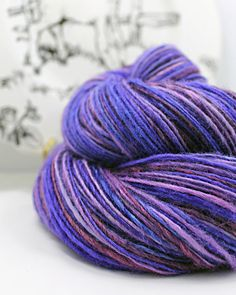 Handspun Yarn Gently Thick and Thin DK Single by SheepingBeauty, $44.00