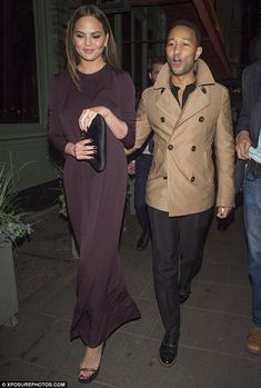 Romance in the air? It seems that the romantic flame is still burning bright for Chrissy Teigen and John Legend, as the couple enjoyed a date night in London, on Wednesday