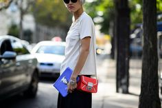 On the Streets of Paris Fashion Week Spring 2015 - Paris Fashion Week Spring 2015 Day 4