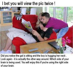 I bet you will view the pic twice