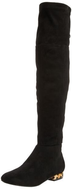 Miss KG Velvet, Women's Knee-High Boots, Black 5 UK (38 EU)