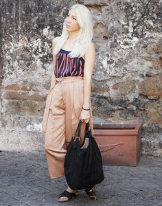 Outfit Trastevere Zara Culottes