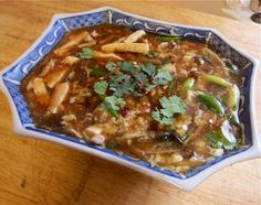 Traditional Chinese Recipes: Suan La Tang (Literally, Sour spicy soup) or Hot and Sour Soup. Time consuming but better than restaurant variety
