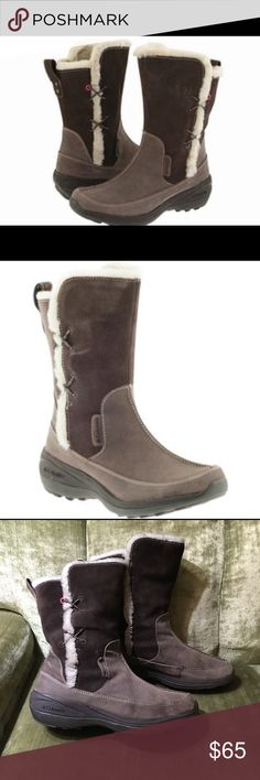 Columbia Delancey Cute Boots! Quality suede boots that are functional and fashionable! Columbia is a company with great name recognition. Stay warm and look good doing it! Columbia Shoes Winter & Rain Boots