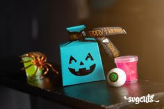 Free SVG File – 10.13.19 – Teal Pumpkin Box | SVGCuts.com Blog