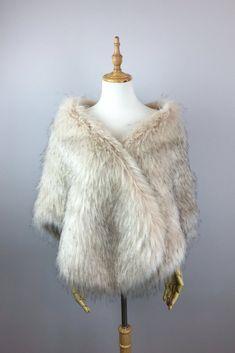 Blush Pink Wedding Dress, Blush Bridal, Pink Dress, Faux Fur Wrap, Pink Faux Fur, Wedding Fur, Wedding Wraps, Faux Fur Stole, The Blushed Nudes