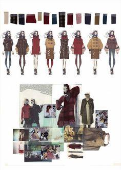 Oh Sew Fashion: Graduate Fashion Week! Fashion Sketchbook, Fashion Sketches, Dress Sketches, Fashion Drawings, Fashion Line, Fashion Art, Sketchbook Layout, Fashion Design Portfolio, Fashion Figures
