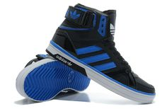 Blue Adidas High Tops   Adidas space diver High Tops Black/Blue/White [Adidas space diver High ...