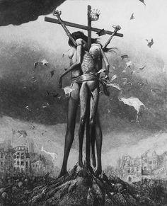 Bez tytułu - 1969 (MHS) #Beksinski