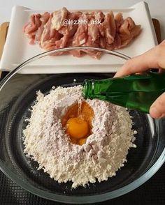 Tavuk sevenler çift tiklasin 💕 Çok lezzetli oluyor tavsiye ederim...Adı biraz degisik yalanci kalamar 🙄🙈 Tavugun gösüs kismindan yapilir…