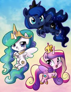 Pwincesses of Equestwia by quila111.deviantart.com on @deviantART
