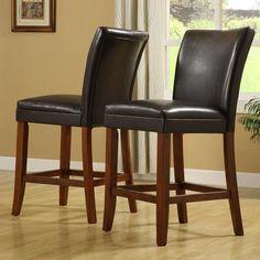 Oxford Set of Two Bi-Cast Pub Chairs