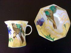 Rozenburg Den Haag eggshell porcelain cup and saucer