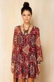 Resultado de imagen para estilo bohemio vestidos