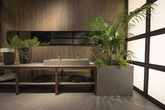 An amazing #bathroom with different #Inalco collections. #iTOP #iSLIMM and #iBASINS surfaces.