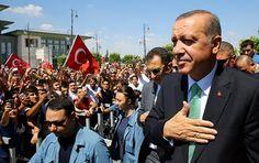 Erdogan bedankt sich bei Frankreich