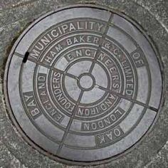 painted man hole covers - Google Search