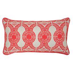 Emille Linen Lumbar Throw Pillow