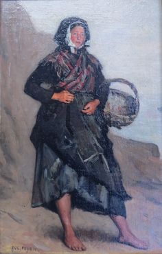 Eugène Feyen. - Cancalaise. - HSP. - SBG. - 24 x 15 cm.