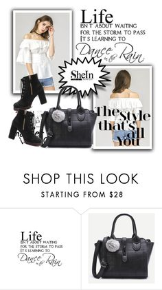 """Shein"" by adelisamujkic ❤ liked on Polyvore featuring Walls Need Love"