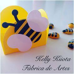 Forminhas personalizada para docinhos enrolados tema abelhinha
