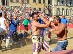 'Calcio Storico' Possibly The Most Violent Sport In The World